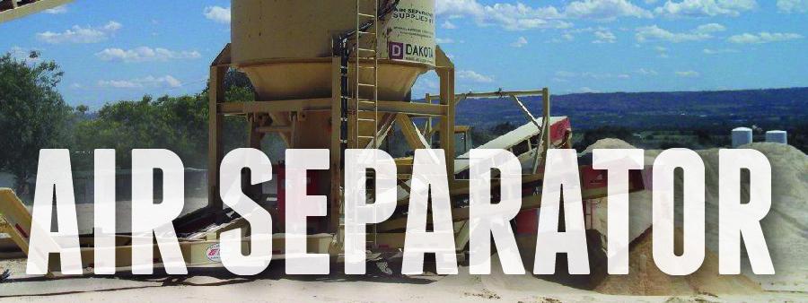 dakota mining air separator