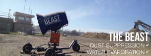 the beast dust suppression and water evaportation
