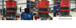 Sandvik hydrocone crusher